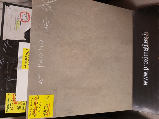 carrelage 30x60 anthracite 13e/Vendu Ail - Photo 3