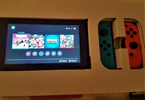 Console Switch + accessoires + jeux - Photo 3