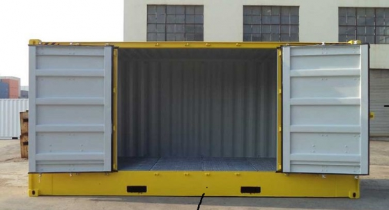 matières 20 pieds (Biohazard).