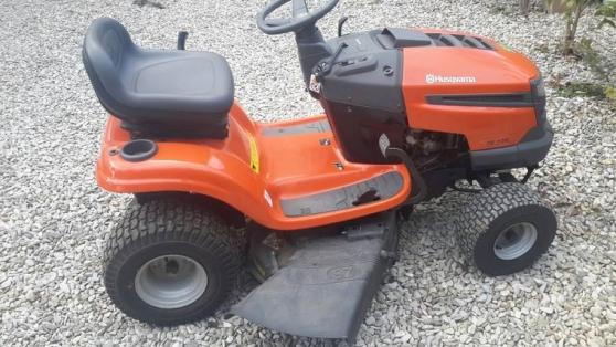 Annonce occasion, vente ou achat 'Tracteur tondeuse husqvarna'