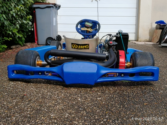 Annonce occasion, vente ou achat 'Kart ROTAX MAX 125 cc 1ère main 50Heures'