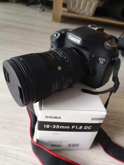 Super appareil photo Canon 7d