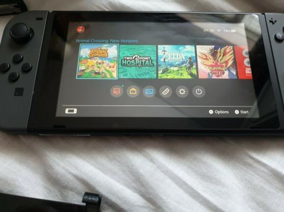 Annonce occasion, vente ou achat 'Nintendo Switch 32 Go Gris-Bundle'