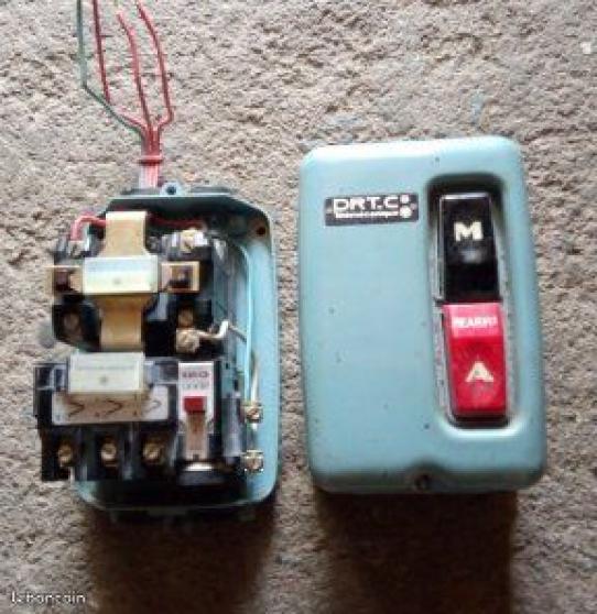 Boitier contacteur électrique