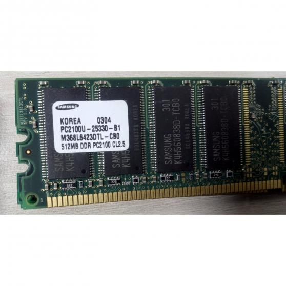 Annonce occasion, vente ou achat 'Barrette RAM SAMSUNG 512MB DDR PC2100U-2'