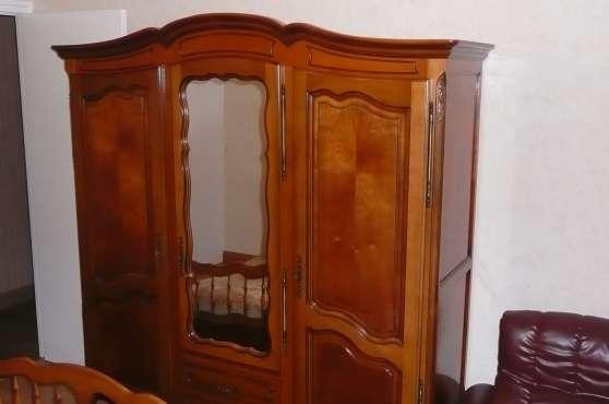 armoire lit meubles d coration chambres coucher st nazaire reference meu cha arm. Black Bedroom Furniture Sets. Home Design Ideas
