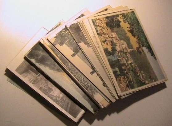 lot  100 cartes postales anciennes à moussac - Annonce gratuite marche.fr