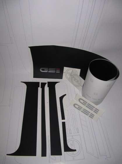 Kit autocollants pour Opel kadett GSI - Photo 3