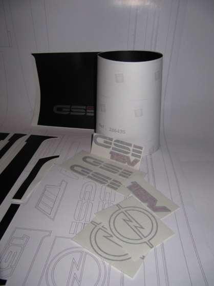 Kit autocollants pour Opel kadett GSI - Photo 4