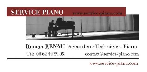Accord SERVICE PIANO - Roman RENAU