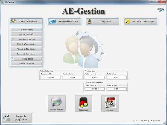 AE-Gestion, logiciel auto-entrepreneurs