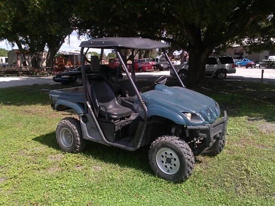 Annonce occasion, vente ou achat 'Voiturette de golf Yamaha Rhino 700'