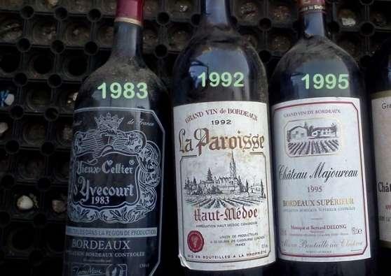 vins en bouteilles Magnums