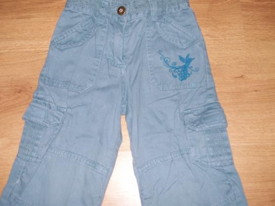 pantalon bleu fille 3 ans (ref E1)