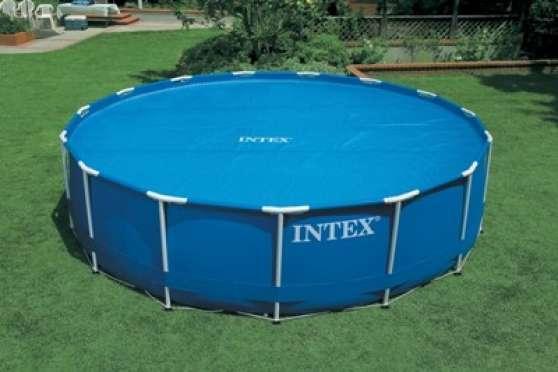 Pool Zen Spa : Bâche à bulles Intex pisc