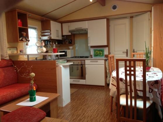 mobil home tres haut de gamme 3 ch sur cancale caravanes camping car mobile home cancale. Black Bedroom Furniture Sets. Home Design Ideas
