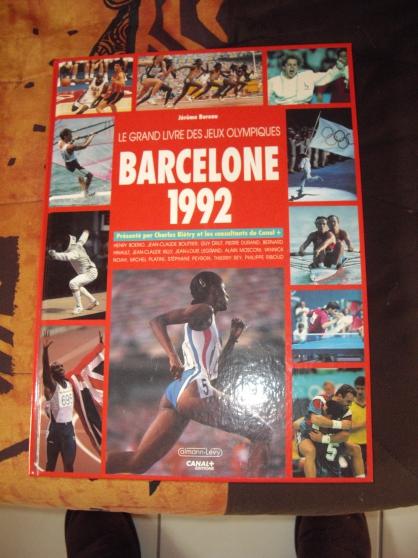 """Livre des Jeux Olympiques """"BARCELONE"""""""