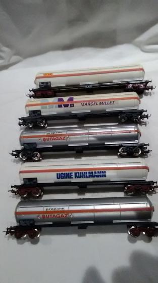 train loco wagons jouef - lima ho