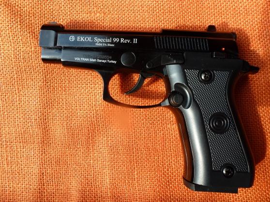 Annonce occasion, vente ou achat 'Pistolet alarme Ekol Special 99 Rev II'