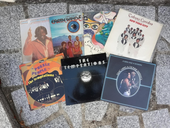 Vinyls funk disco rock prix sacrifier
