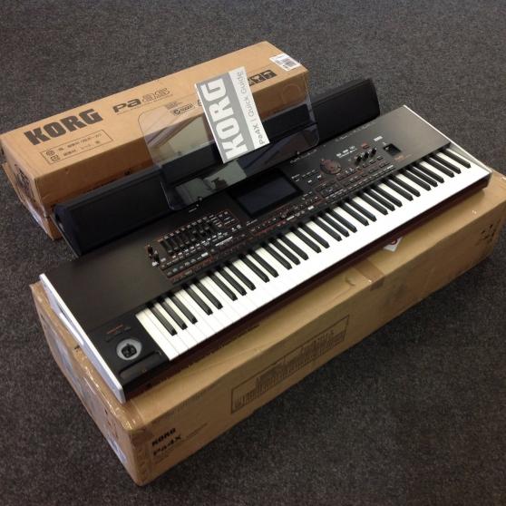 clavier korg pa4x 76 + accessoires - Annonce gratuite marche.fr