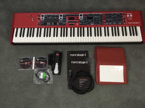 clavia nord stage 3 88 notes comme neuf - Annonce gratuite marche.fr