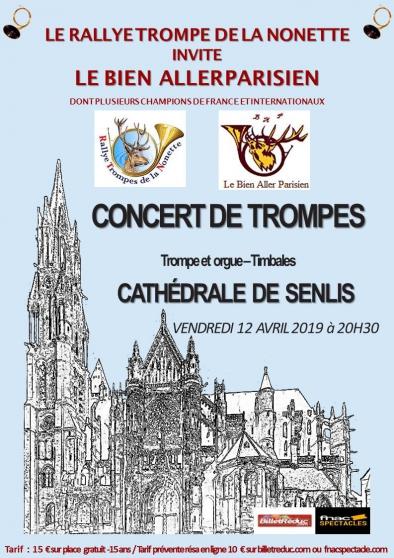 Petite Annonce : Concert exceptionnel de trompe de chasse - Le Bien Aller Parisien sur invitation du Rallye trompe de la Nonnette