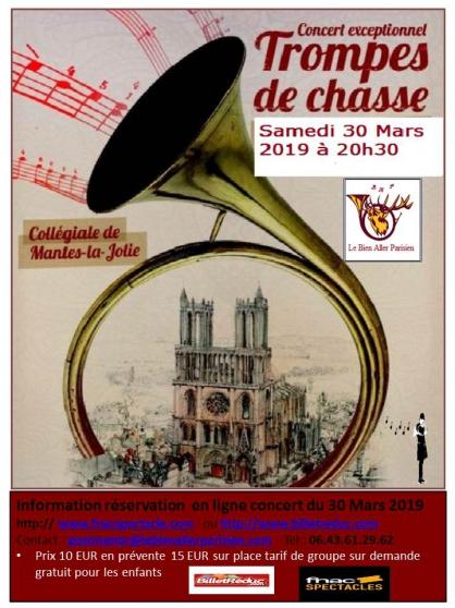 Petite Annonce : Concert de trompes salon de la chasse - À l\'occasion du Salon de la Chasse et de la Faune Sauvage, le Bien