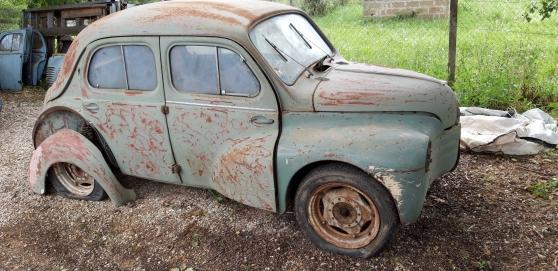Annonce occasion, vente ou achat 'Renault 4cv collection à restaurer'