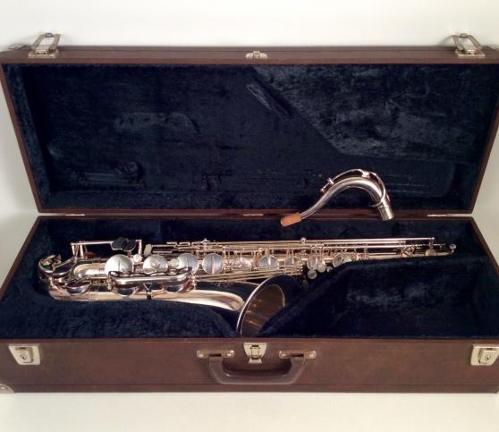 Saxophone ténor Selmer, année 1977 mark