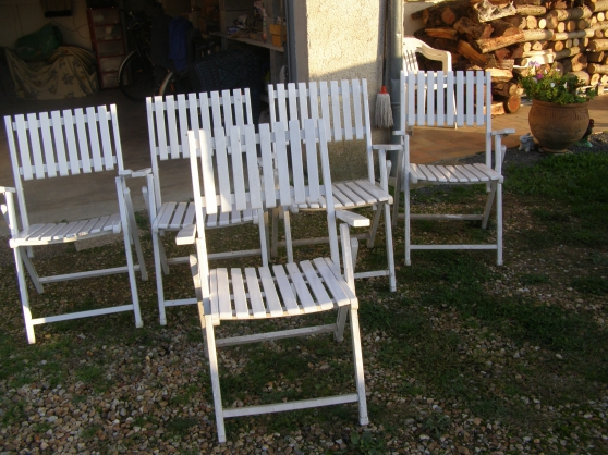 fauteuils extérieur d'été
