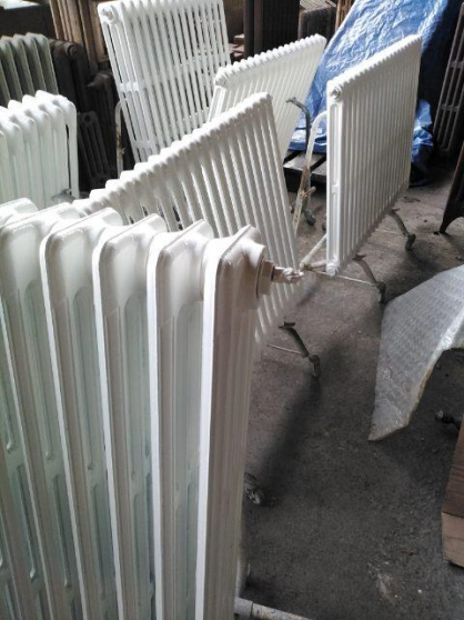 sablage de vos radiateurs en fonte