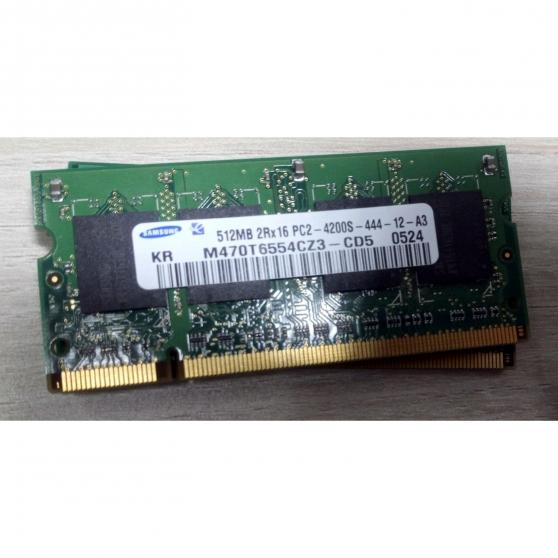 Annonce occasion, vente ou achat 'Barrette RAM SAMSUNG 512MB 2Rx16 PC2-420'