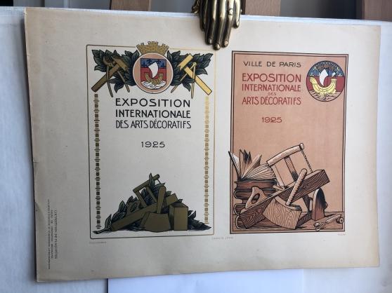 EXPOSITION INTERNATIONALE DES ARTS DÉCOR