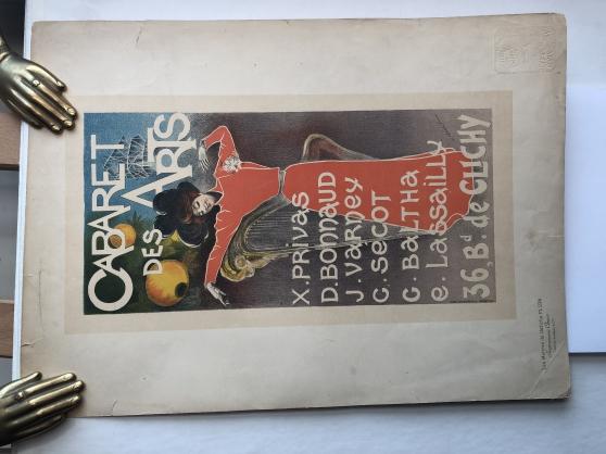 CABARET DES ARTS Maître de l'Affiche