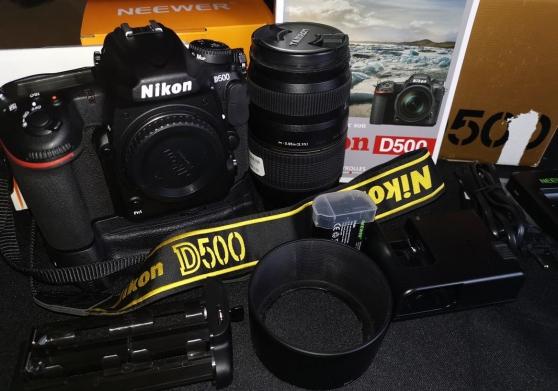 Annonce occasion, vente ou achat 'Nikon D500 Complet'
