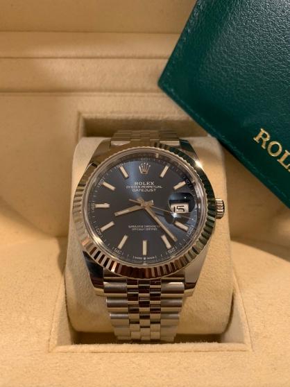 Annonce occasion, vente ou achat 'ROLEX DATUMJUST 41 MM 2020'
