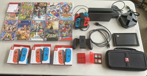 Nintendo Switch Console Bundle 32 Go