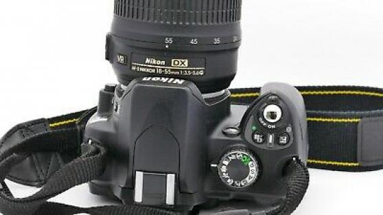 Annonce occasion, vente ou achat 'Nikon D60 avec poignée'
