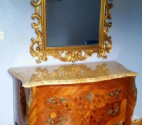 Chambre en bois de rose style Louis XV