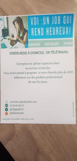 Annonce occasion, vente ou achat 'Vendeurs / Vendeuses'