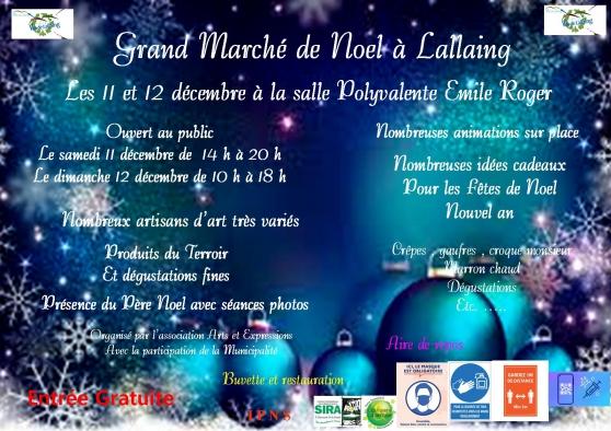 Annonce occasion, vente ou achat 'Grand Marché de Noel à Lallaing'