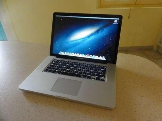 Annonce occasion, vente ou achat 'Macbook Pro 15 - i7 2GHz - 8 Go DDR3 - 5'