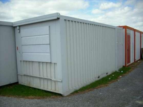 vente d stockage bungalow 15m toulouse mat riaux de construction baraques de chantier. Black Bedroom Furniture Sets. Home Design Ideas