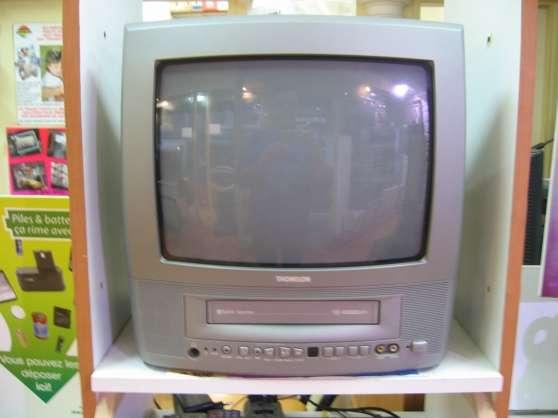 téléviseur combi magnetoscope