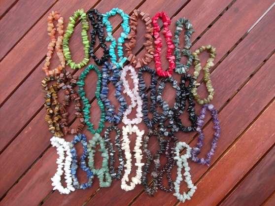 Annonce occasion, vente ou achat 'Bracelets en pierres semi-precieuses'