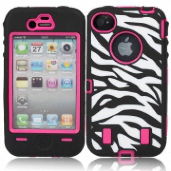 Coque iPhone 4/4S Zebra