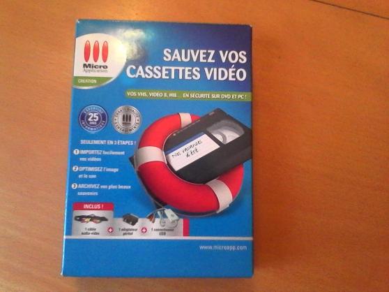 """logiciel """"sauvez vos cassettes vidéo"""""""