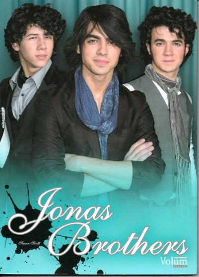 Jonas Brothers, livre-album-photo/Scott