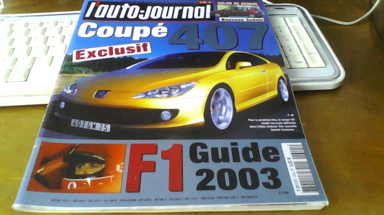 Annonce occasion, vente ou achat 'L\'Auto-journal 6 mars 03 407 Donkervoort'